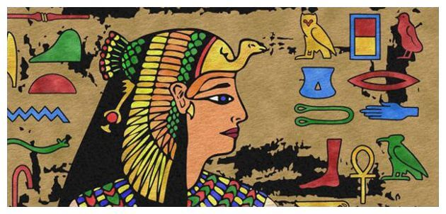 free step by step Egyptian art