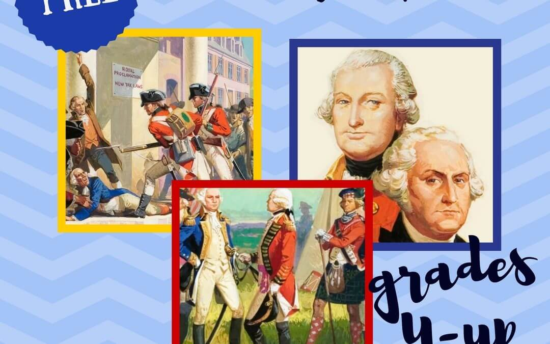 Free American Revolution Unit Study Lapbook Homeschool