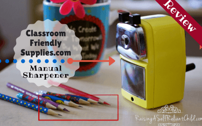 Manual Pencil Sharpener Review & Giveaway