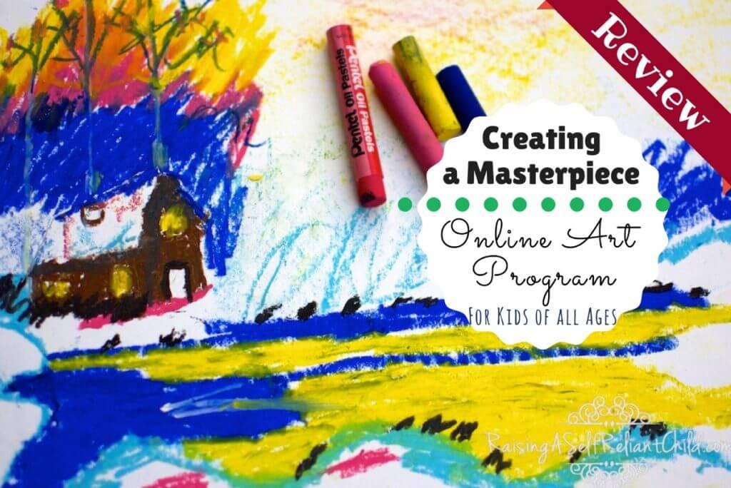 online art program creating a masterpiece review