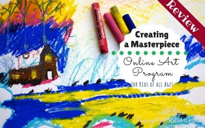 Online Art Program Creating a Masterpiece Review