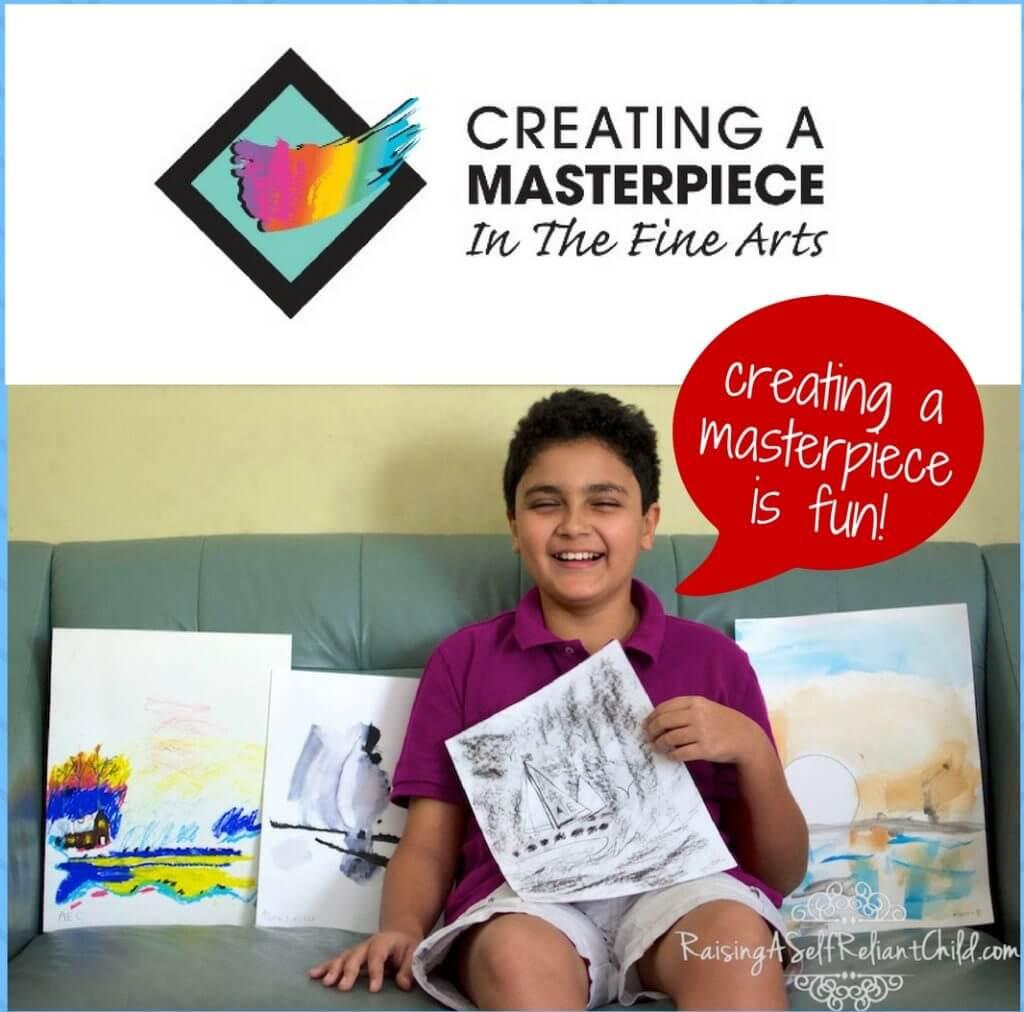 online art program homeschool