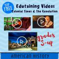 top free videos colonial america homeschool