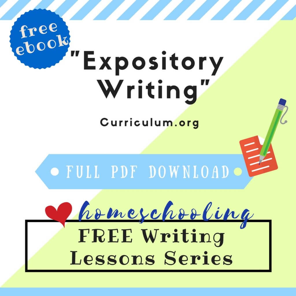 free expository writing ebook homeschool
