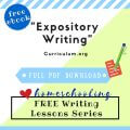 free expository writing ebook homeschool