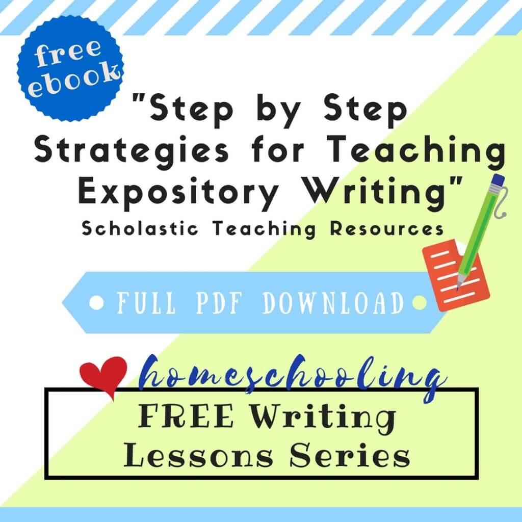 free writing lessons series 5 homeschool