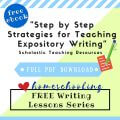 free homeschool writing lessons series 5