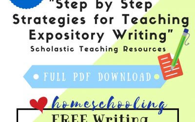 Free Writing Lessons Series #5
