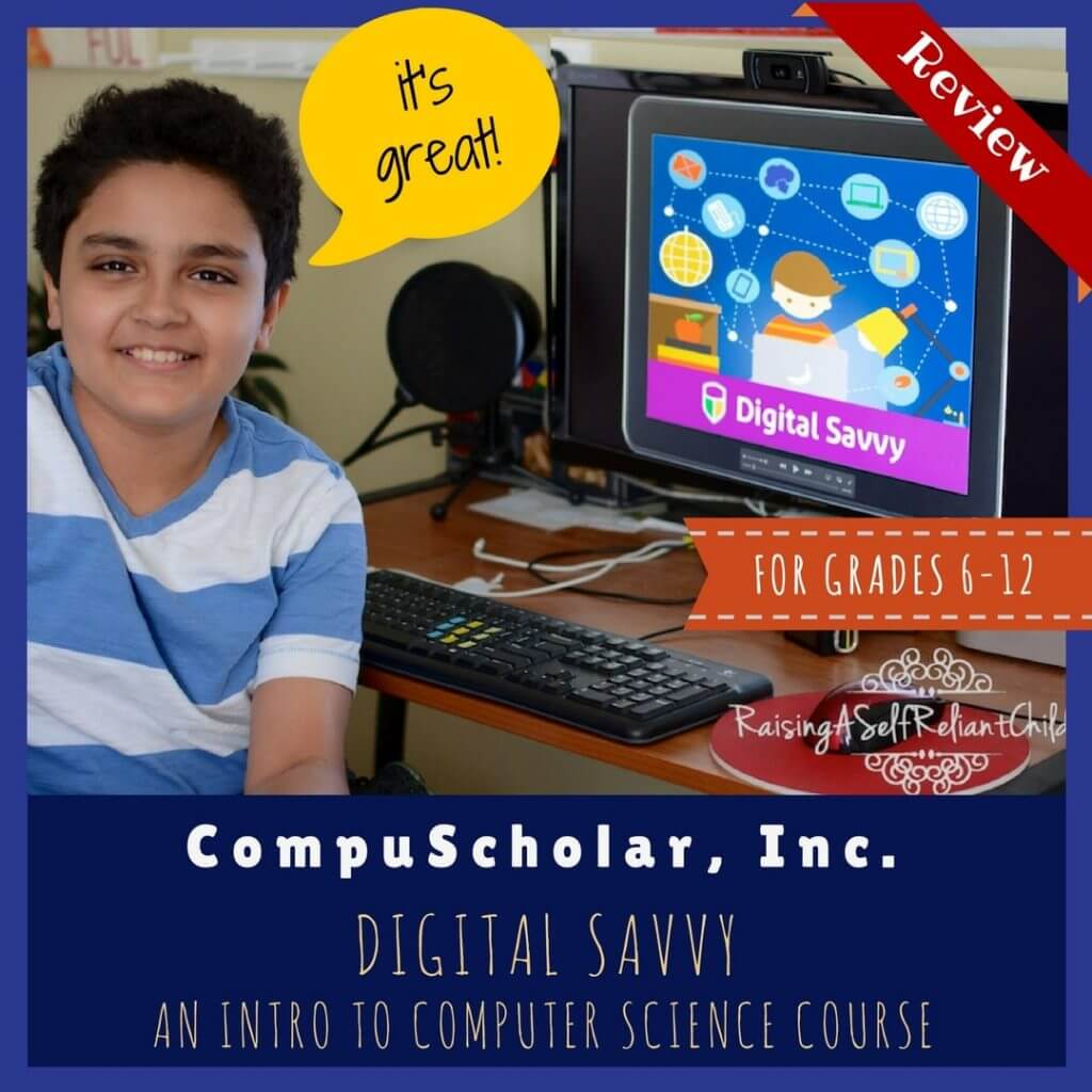 homeschool computer skills curriculum digital savvy review