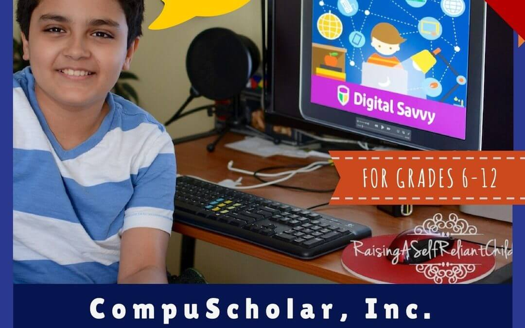 Digital Savvy Review • A CompuScholar, Inc. Course