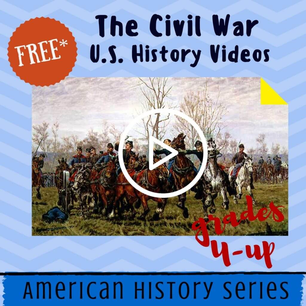 american civil war videos homeschool