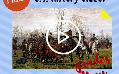 Free Civil War Video Lessons Homeschool Grades 4+