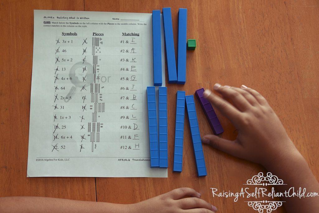 math supplement algebra for breakfast review