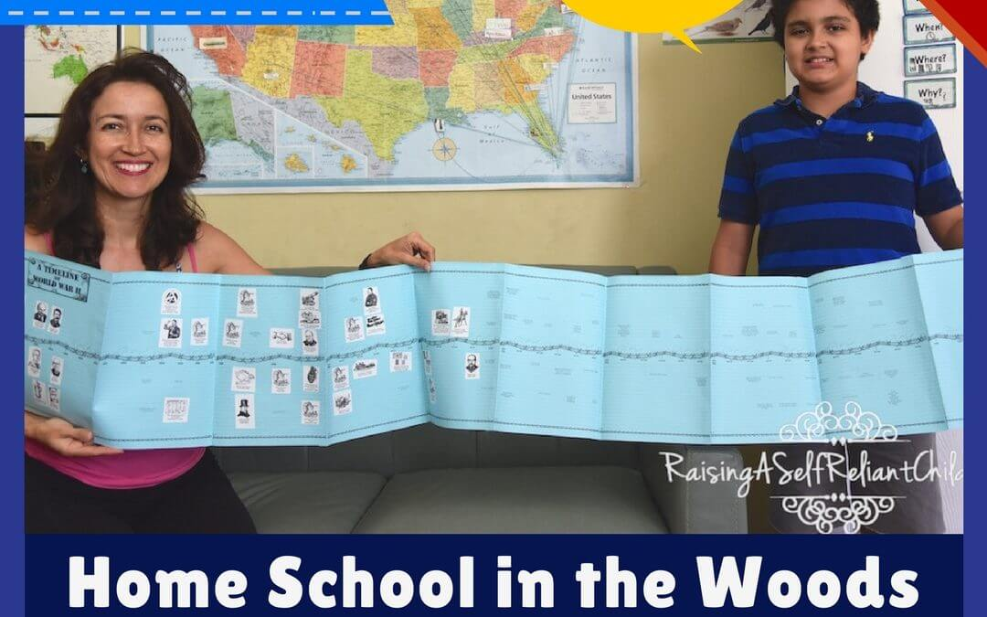 Hands On History Curriculum Home School in the Woods Review